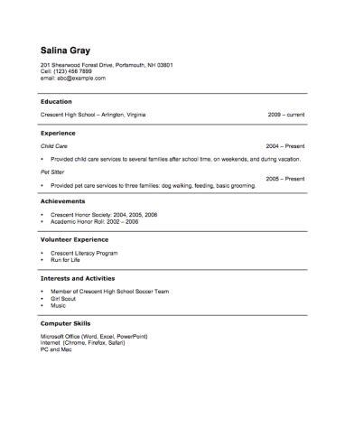 simple resume format sample kantosanpo com