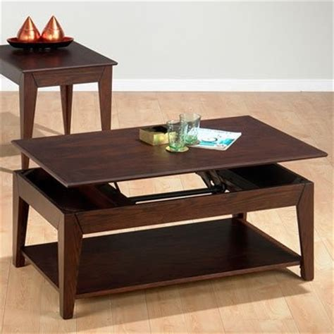 jofran albion basics lift top coffee table modern