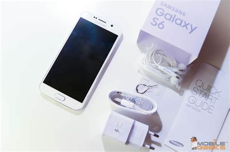 Samsung Unbox Samsung Galaxy S6 Unboxing And Impressions