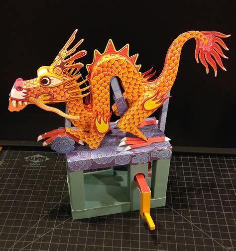 Papercraft Automata - living papercraft a paper automata