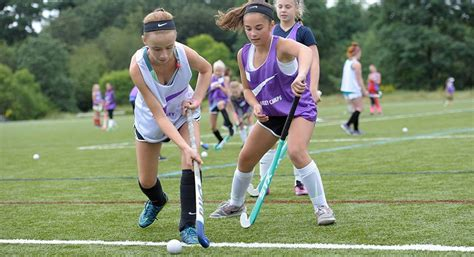 my sports were team sports hockey and baseball the nike field hockey c at williams college