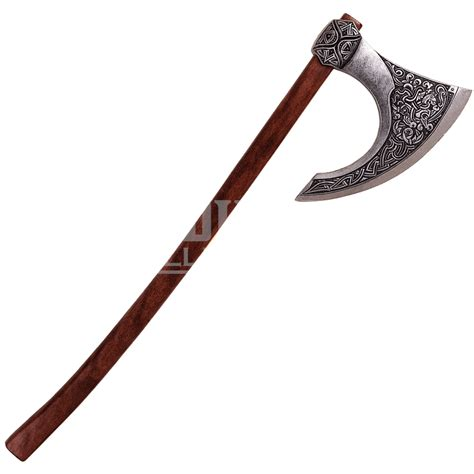 Home Decor Halloween by Two Hand Celtic Axe Pewter Xd628g From Medieval Collectables