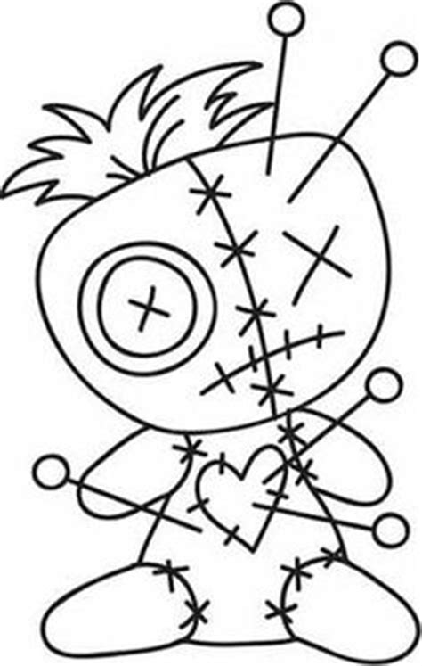 voodoo doll clipart 21