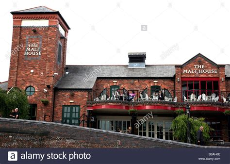 the malt house the malt house pub birmingham bill clinton drank a pint on the stock photo royalty
