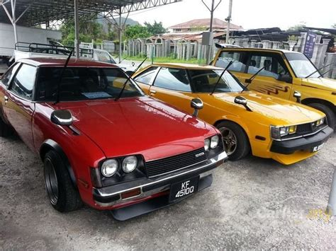 Toyota Dealers Ta Toyota Celica 1979 In Perak Manual Yellow For Rm 29 800