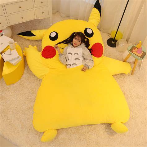 pikachu bed a gigantic pok 233 mon pikachu bed jessica chobot of nerdist