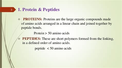 protein vs peptide protein and peptide delivery system