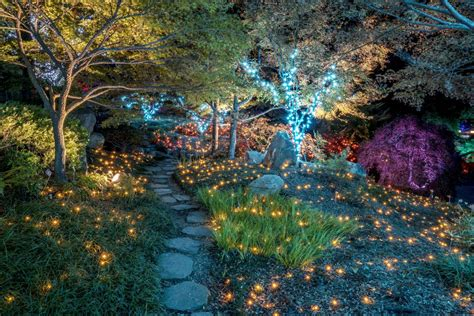 Botanical Gardens Garden Of Lights Dominion Gardenfest Of Lights At Lewis Ginter Botanical Garden