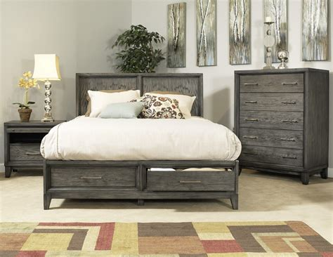 gray bedroom furniture cove beach platform storage bed haiku designs grey wood