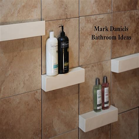 Ceramic Tile Shower Shelf by Best 25 Shower Shelves Ideas On Shower