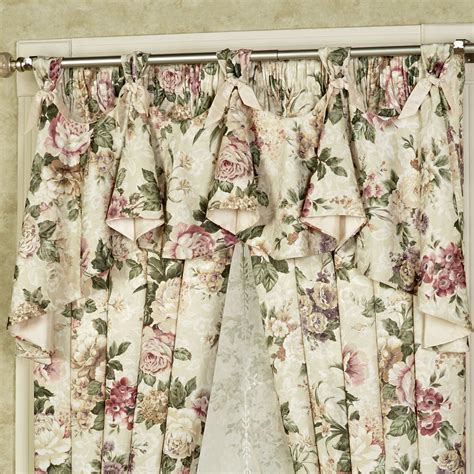 Floral Valance floral jubilee austrian valance window treatment