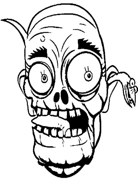 cute zombie coloring pages face cartoon zombie coloring page coloring