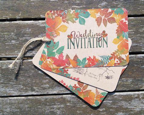 autumnal wedding invitations the events experts 187 autumn wedding inspiration