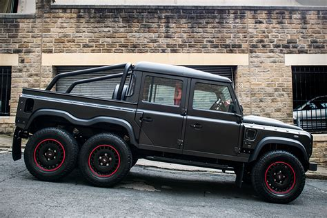 land rover defender flying huntsman 6x6 hiconsumption