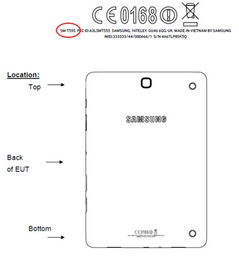 samsung galaxy tab al sm  confirmed  fcc