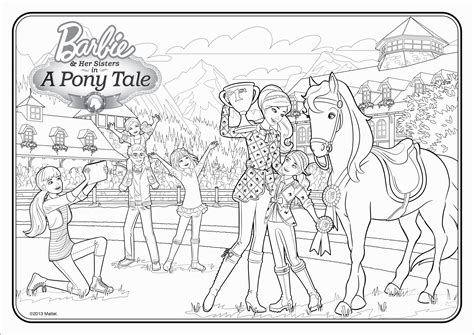 barbie coloring pages with horses barbie horse coloring page coloring home