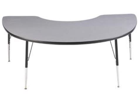 kidney shaped table for classroom study adjustable kidney shaped table 72x48