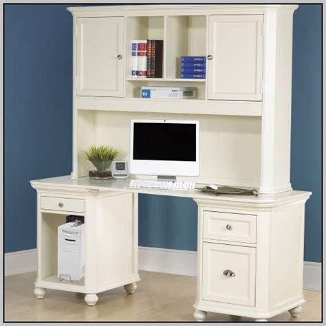 white computer desk with hutch desk with hutch white desk home design ideas
