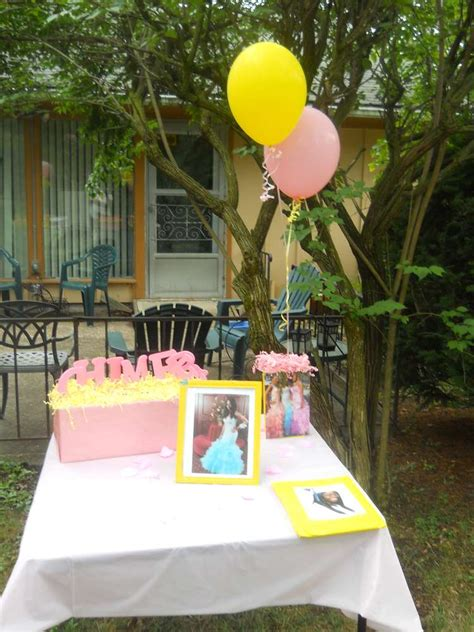 Going Away To College Decorations by Pink Yellow Farewell Ideas Photo 1 Of 35