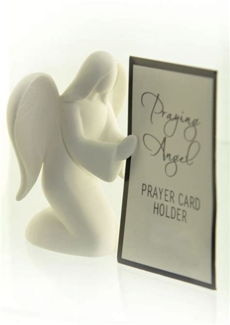Gift Cards For Cancer Patients - prayer or photo holder angel for cancer patients