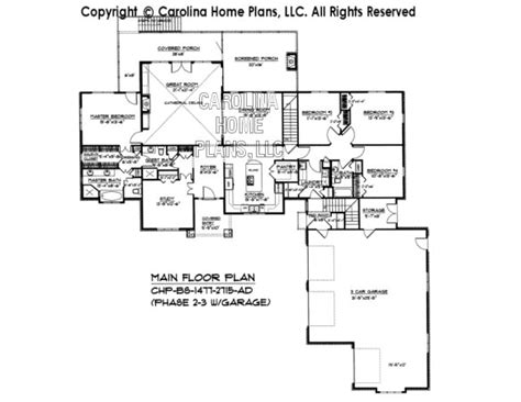 expandable house plans expandable craftsman house plan bs 1477 2715 ad sq ft