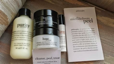 Philosophie Detox Pills by The Review Philosophy Cleanse Peel Treat Kit