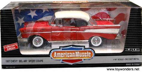 1 18 Ertl 1957 Chevrolet Bel Air Fireball 22 Race Stock Car M 1957 chevy bel air by ertl 1 18 scale diecast model car wholesale 7330r