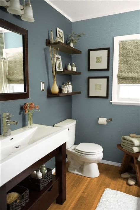 What Colors To Paint A Bathroom by Mountain By Sherwin Williams Beautiful Earthy Blue