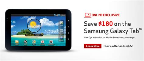 Samsung Galaxy Tab 1 7 Inch Second samsung galaxy tab 7 inch only 50 with new verizon contract cnet