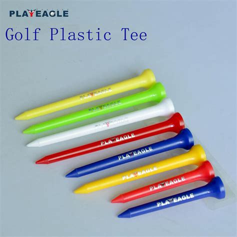 Golf Plastic Rubber 83mm Durable Rubber Top Golf Factory Wholesale Plastic