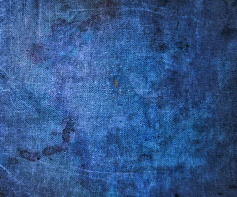blue my abstract grunge texture on blue fabric www