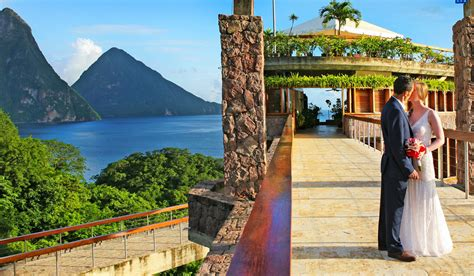 destination wedding locations new 2 jade mountain weddings st lucia s most wedding