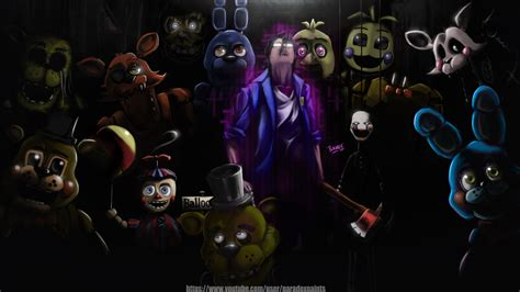 Five Nights At Freddy S Fan By Bladerazors On Deviantart