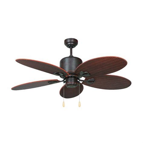 tropical outdoor ceiling fans yosemite home decor tropical breeze 48 in oil rubbed