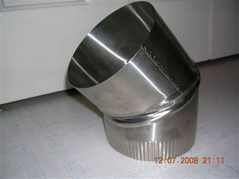 10 Inch Stainless Steel Stove Pipe Single Wall by 6 Inch Stove Pipe Stainless Steel 30 Degree Single Wall