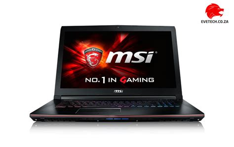 Msi No 1 Slim Gaming Ge62 6qf I7 W Gtx 970m Like New buy msi ge62 6qf apache pro 4k i7 gaming laptop deal at evetech co za