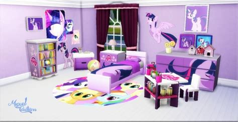 Kid Bathroom Decorating Ideas My Little Pony Bedroom At Victor Miguel 187 Sims 4 Updates