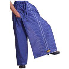 Sarung Celana Sarung Tenun Blue jual baju muslim pria terbaik termurah lazada co id