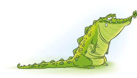 cute crocodile cartoon styles vectors