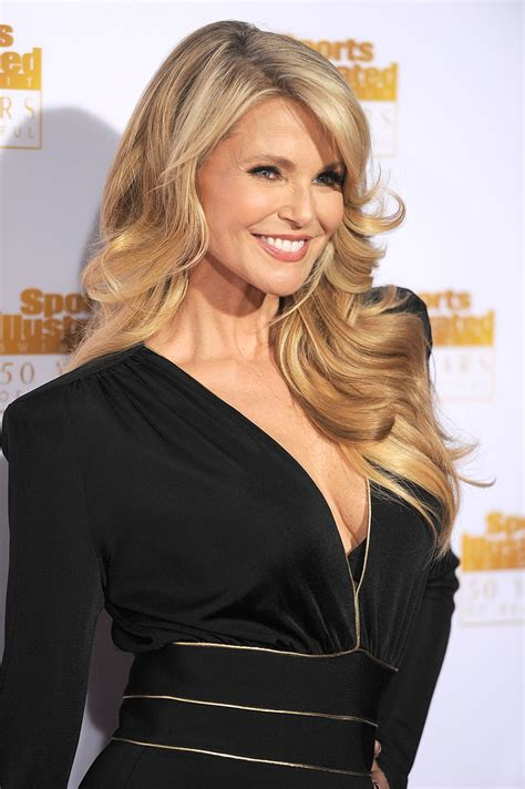 christie brinkley christie brinkley on red carpet 50th anniversary of the