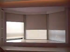 Best Black Out Blinds 6 Motorized Roller Blinds Install In A Bay Window With