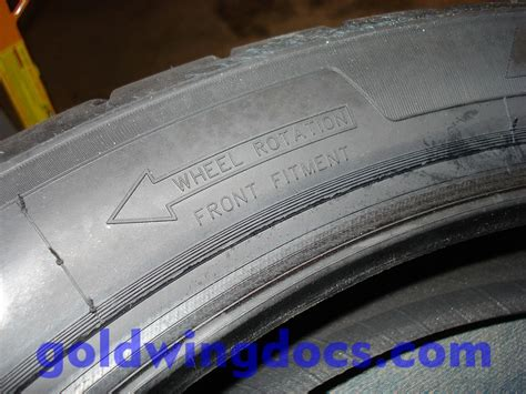 Motorradreifen Laufrichtung Falsch by How To Remove And Remount Your Tires Gl1100 Diy Articles