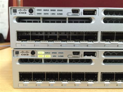 It Infrastructure Stacking 3850 Switch