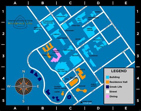 colorado school of mines cus map rsl residence halls