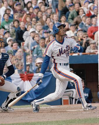 Today In Mets History Straw Hits The First Of Many The