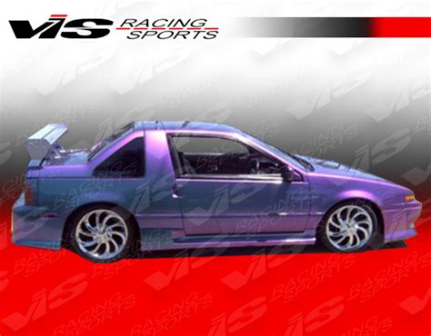 nissan pulsar  dr  speed style body kit   vis racing