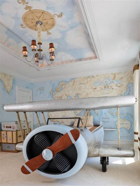 aviation bedroom original aviation inspired boys bedroom design kidsomania