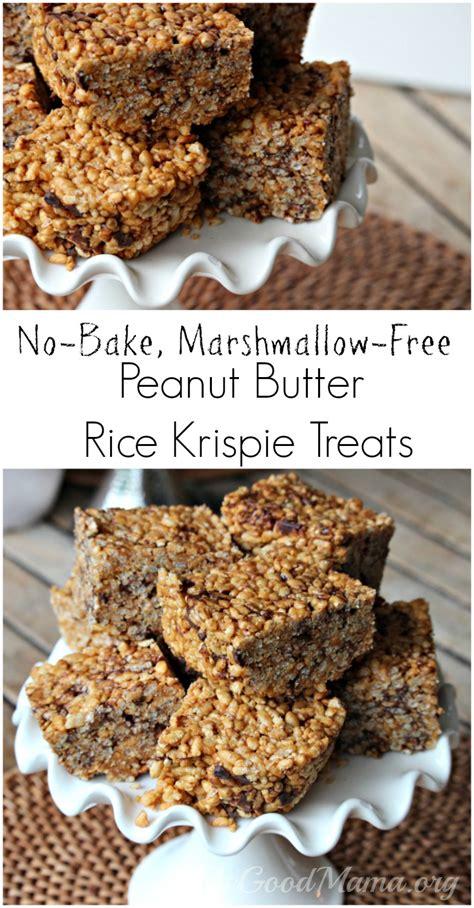 peanut butter treat recipe no bake peanut butter rice krispie treats recipe the