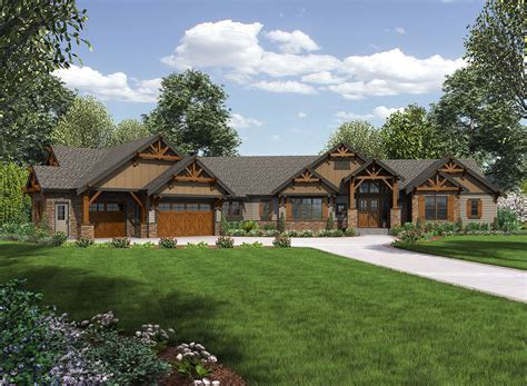 ranch and home plan 23609jd one story mountain ranch home craftsman