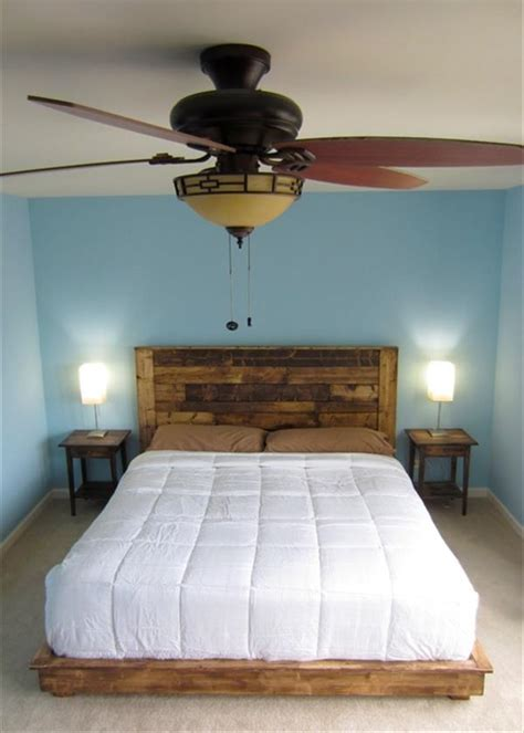 headboards made out of pallets pallet headboard tutorial pallet furniture plans